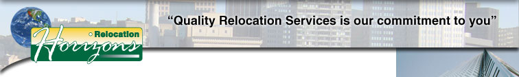 "Relocation Horizons: ""Quality Relocation Services is our commitment to you"""
